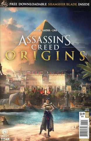 ASSASSINS CREED ORIGINS #1 CVR B GAME ART