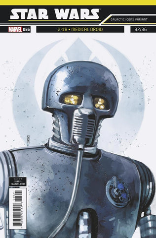 STAR WARS #56 Rod Reis Galactic Icon Cover
