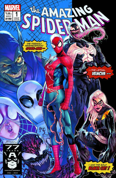 AMAZING SPIDER-MAN #1 JAMAL CAMPBELL HOMAGE EXCLUSIVE COVER A