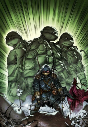 TEENAGE MUTANT NINJA TURTLES THE LAST RONIN #1 (OF 5) RAYMOND GAY NYCC VIRGIN EXCLUSIVE TMNT