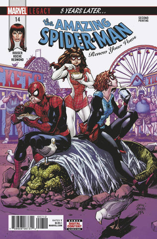 AMAZING SPIDER-MAN RENEW YOUR VOWS #14 2ND PTG STE