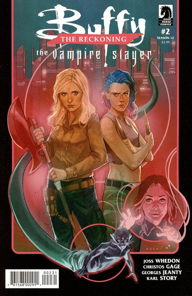 BTVS SEASON 12 THE RECKONING #2 (OF 4) CVR C VAR N