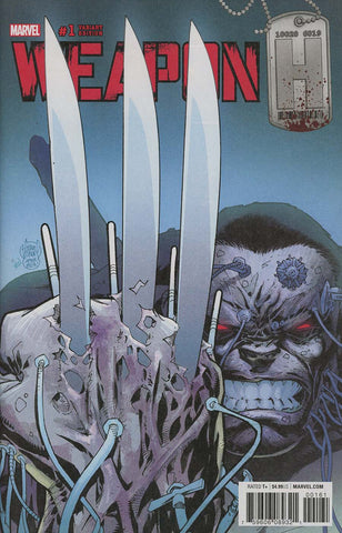WEAPON H #1 KUBERT WOLVERINE HOMAGE VAR LEG