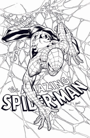 AMAZING SPIDER-MAN #798 LEG GREG LAND B&W EXCLUSIVE