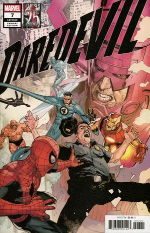 DAREDEVIL #7 YU MARVELS 25TH TRIBUTE VAR