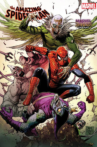 AMAZING SPIDER-MAN #44 TONY DANIEL MARVEL ZOMBIES VAR