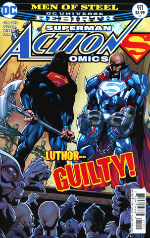 ACTION COMICS #971 VOL 2 COVER A MAIN 1ST PRINT