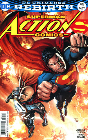 ACTION COMICS #971 VOL 2 COVER B GARY FRANK VARIANT