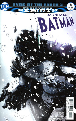 ALL STAR BATMAN #6 COVER A MAIN 1ST PRINT
