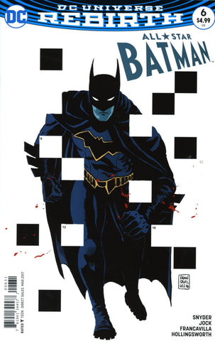 ALL STAR BATMAN #6 COVER C FRANKAVILLA VARIANT
