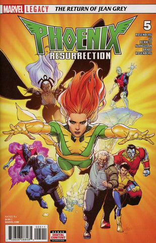 PHOENIX RESURRECTION RETURN JEAN GREY #5 (OF 5) LEG