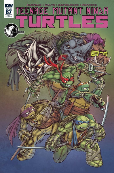 TMNT TEENAGE MUTANT NINJA TURTLES #67 UNKNOWN EXCLUSIVE