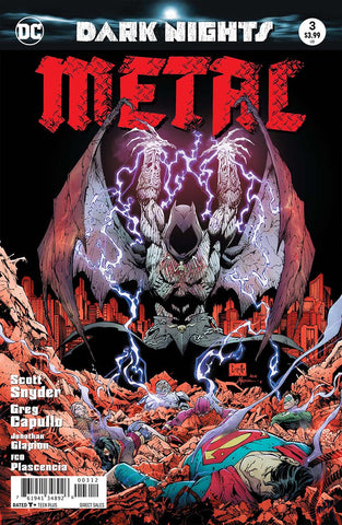 DARK NIGHTS METAL #3 (OF 6) 2ND PTG