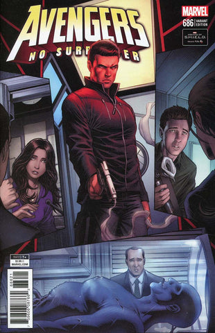 AVENGERS #686 KEOWN AGENTS OF SHIELD ROAD TO 100 VAR LEG