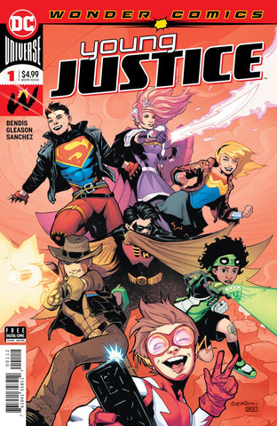 YOUNG JUSTICE #1 2ND PTG