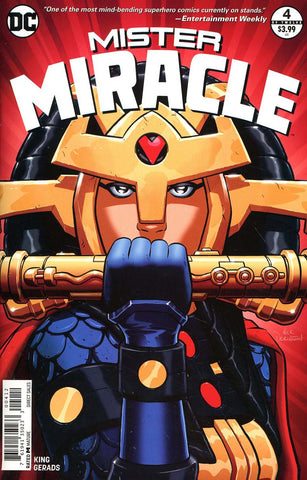 MISTER MIRACLE #4 (OF 12) 2ND PTG