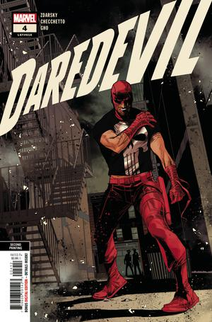 DAREDEVIL #4 2ND PTG CHECCHETTO VAR
