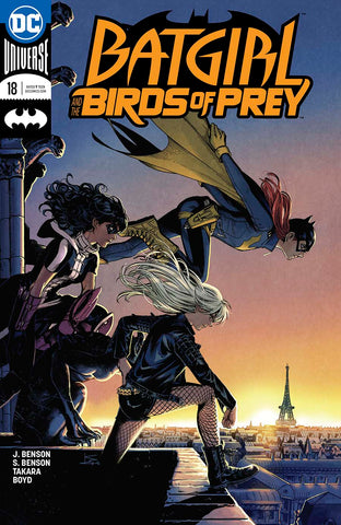 BATGIRL AND THE BIRDS OF PREY #18 VAR ED