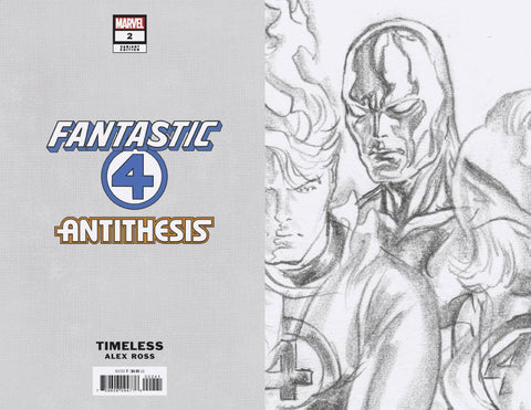 FANTASTIC FOUR ANTITHESIS #2 (OF 4) TIMELESS VIRGIN SKETCH V