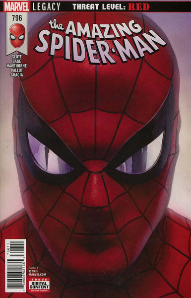 AMAZING SPIDER-MAN #796 LEG - LIMIT 1 PER