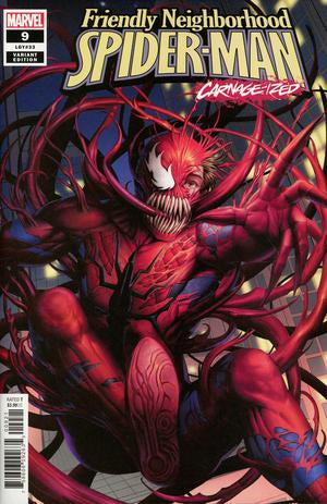 FRIENDLY NEIGHBORHOOD SPIDER-MAN #9 WOO DAE SHIM CARNAGE-IZE