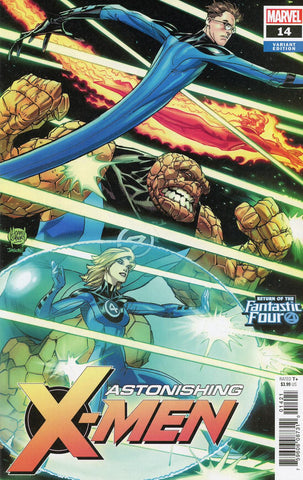 ASTONISHING X-MEN #14 KUBERT RETURN OF FANTASTIC FOUR VAR