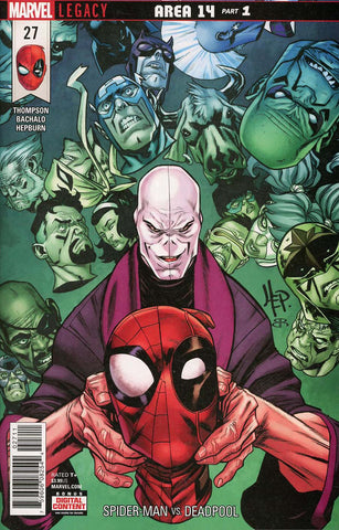SPIDER-MAN DEADPOOL #27 LEG