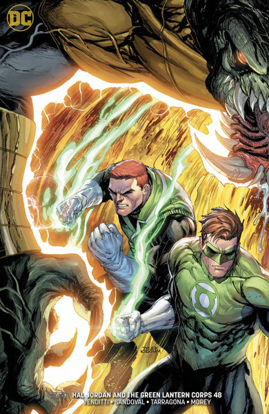 HAL JORDAN AND THE GREEN LANTERN CORPS #48 VAR ED