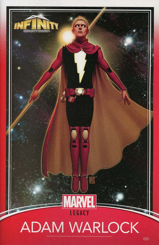 INFINITY COUNTDOWN #1 (OF 5) CHRISTOPHER TRADING CARD VAR LE