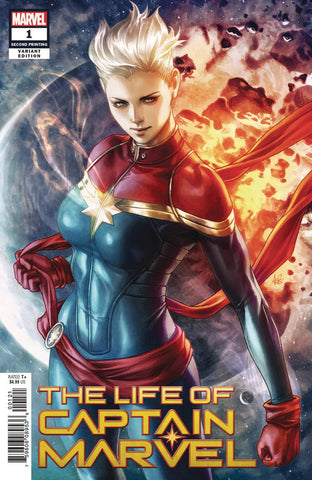 LIFE OF CAPTAIN MARVEL #1 (OF 5) 2ND PTG ARTGERM V