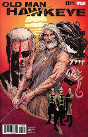 OLD MAN HAWKEYE #1 (OF 12) MCNIVEN VAR LEG
