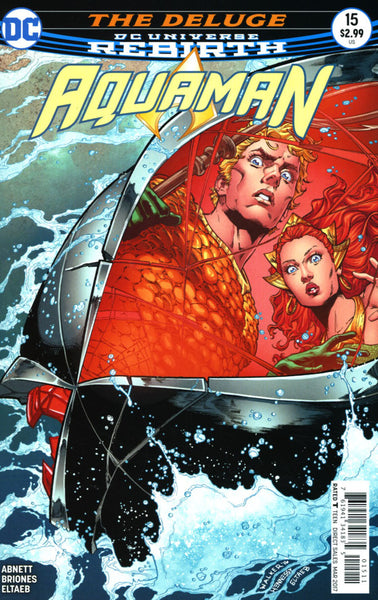 AQUAMAN VOL 6 #15 COVER A 1ST PRINT