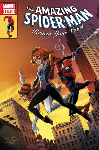 AMAZING SPIDER-MAN RENEW YOUR VOWS #13 RANDOLPH LH LEG WAVE 2