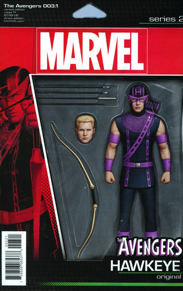 AVENGERS VOL 6 #3.1 ACTION FIGURE VARIANT