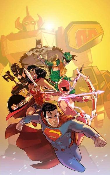 JUSTICE LEAGUE POWER RANGERS #1 (OF 6) 2ND PTG