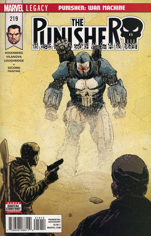 PUNISHER #219 2ND PTG VILANOVA VAR LEG
