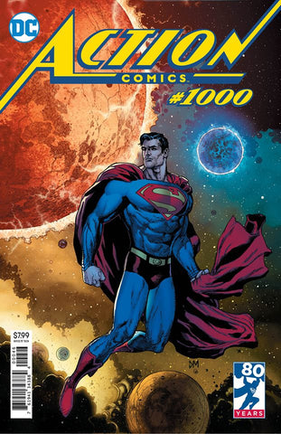 ACTION COMICS #1000 DOUG MAHNKE FRIED PIE VAR ED