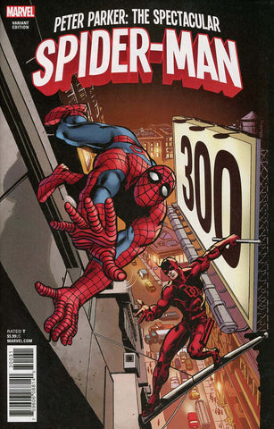 PETER PARKER SPECTACULAR SPIDER-MAN #300 REMASTERED VAR LEG