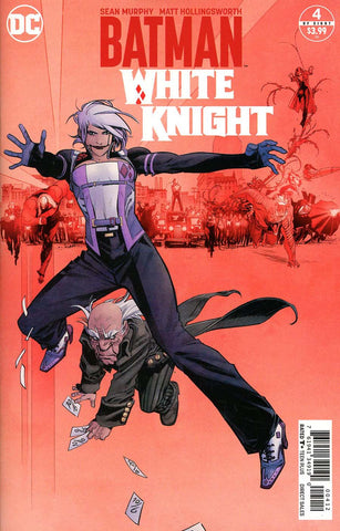 BATMAN WHITE KNIGHT #4 (OF 8) 2ND PTG