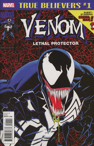 TRUE BELIEVERS VENOM LETHAL PROTECTOR #1