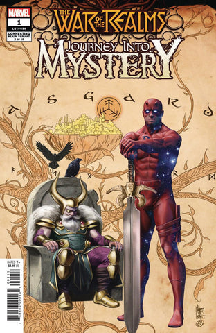 WAR OF REALMS JOURNEY INTO MYSTERY #1 (OF 5) DJURDJEVIC CONN