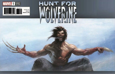 HUNT FOR WOLVERINE #1 DELLOTTO EXCLUSIVE VAR