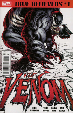 TRUE BELIEVERS VENOM AGENT VENOM #1