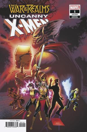 WAR OF REALMS UNCANNY X-MEN #1 (OF 3) PORTACIO VAR