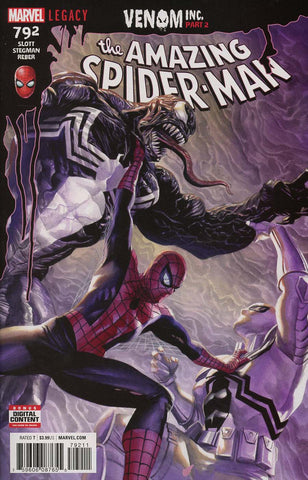AMAZING SPIDER-MAN #792 LEG VENOM INC