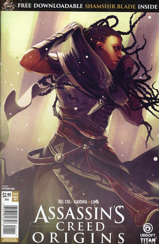 ASSASSINS CREED ORIGINS #1 CVR A HANS