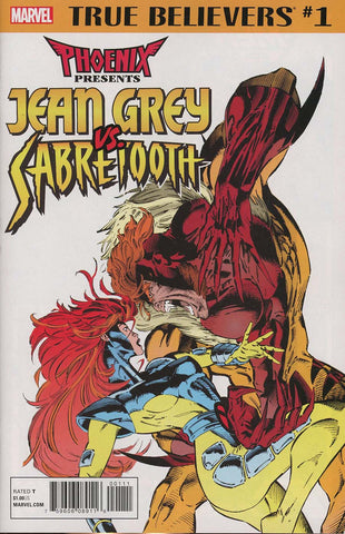 TRUE BELIEVERS PHOENIX VS SABRETOOTH