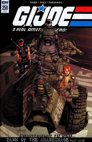 GI JOE A REAL AMERICAN HERO #250 15 COPY INCV