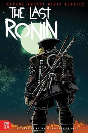 TEENAGE MUTANT NINJA TURTLES THE LAST RONIN #1 (OF 5) 2ND PTG EASTMAN KUHN TMNT
