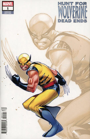 HUNT FOR WOLVERINE DEAD ENDS #1 COIPEL VAR